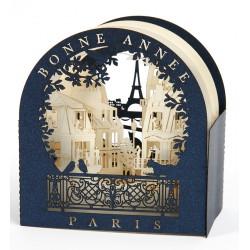 """Hublot Bonne Année """" Toits de Paris"""""""