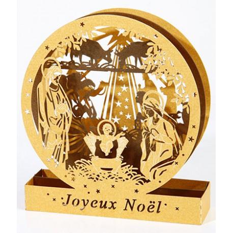 Cercle 3D - Crèche de Noël 2017 - 100 mm