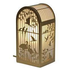 Lampe Cage à Oiseaux