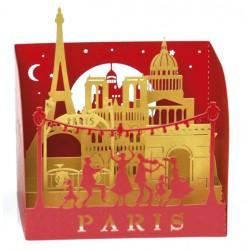 """Mini """"Paris - La Fête"""" - 3 coloris - 73 mm"""