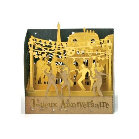 """MINI-Vitrine  """"La fête"""" - Joyeux Anniversaire"""