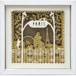 """Tableau en Kit """"Le Métro de Paris"""""""